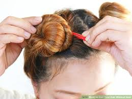 hairstyles for bed wiki how 9 ways to curl your hair without heat wikihow