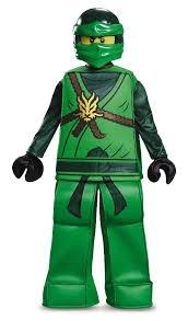 Halloween Costume Ninja Lego Ninjago Lloyd Prestige Halloween Costume Child Size Toys