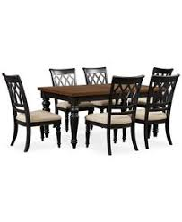 From Macys Bradford Dining Room Furniture  Piece Set - Branchville white round dining room furniture