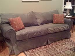 mitchell gold slipcovered sofa mg alexa