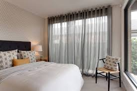 Sheer Window Treatments House Window With Modern Sheer Curtains The Length Of Sheer