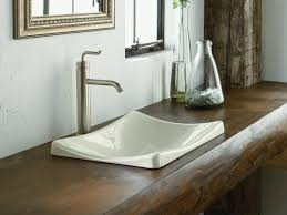 kohler demilav wading pool vessel sink in white kohler k 2833 0 demilav wading pool bathroom sink white sink ideas