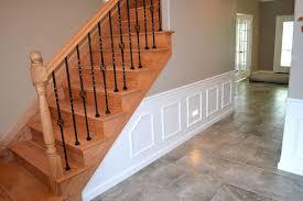 oak staircase u2013 decorative wall trim ak britton construction llc