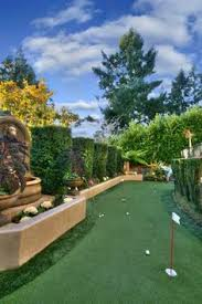 Putting Green Backyard by Backyard Putting Greens Curb Appeal Pinterest Backyards Us