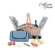 picnic basket set for 2 picnic basket set 2 person picnic set