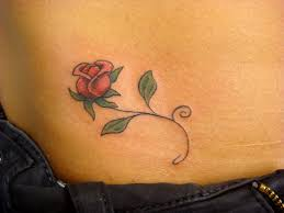 lower back frog tattoo design for girls real photo pictures