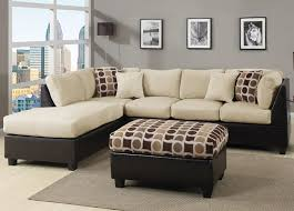 Fabric Sectional Sofas With Chaise Furniture White Leather Sectional Sofa With Chaise Also Black And