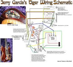 jerry garcia u0027s tiger schematic guitar wiring and tweeks