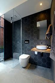 black tile bathroom ideas the 25 best white tiles grey grout ideas on small