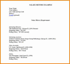 8 sample cover letter with salary history rsvp slip template