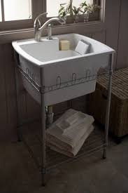 Kitchen And Utility Sinks by Splash Galleries Sterling 995 U Latitude Laundry Sink And Stand