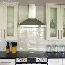 Cape  Kitchens Glass Canisters Stainless Steel Appliances - Ikea kitchen cabinets white