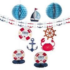 Baby Shower Decor Ideas Nautical Theme Baby Shower Decorations U0026 Ideas Unique Baby