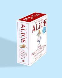 Amazon Com Holiday Wonderland 100 by Alice 100 Postcards From Wonderland The Macmillan Alice
