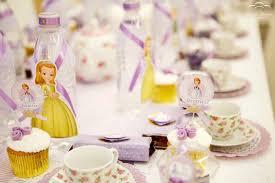 kara u0027s party ideas sofia princess tea party ideas