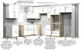 top kitchen cabinets sizes custom kitchen cabinets