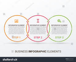 outline circular infographic minimalistic diagram chart stock outline circular infographic minimalistic diagram chart graph with 3 steps options