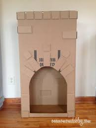 how to make a cardboard fireplace one mom and a blog
