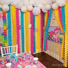 my pony decorations party wall decorations my pony rainbow wall decor idea