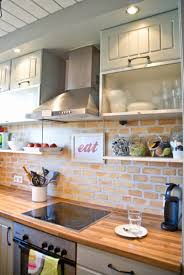 Small Kitchen Ideas Backsplash Shelves by Kitchen Backsplash Cool Small Kitchen Ideas Brick Kitchen Ideas