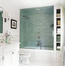 tile shower tub surround ideas moden white wooden frame glass door