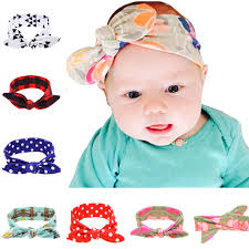 baby hairbands 100pcs lot design print top baby headband 2016 fashion cotton hair