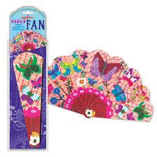 paper fans assorted paper fans eeboo