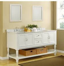 Bathroom Vanity With Shelves Amusing Open Shelf Bathroom Vanities 56 For Best Design Interior