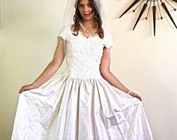 vintage 60s wedding dress etsy
