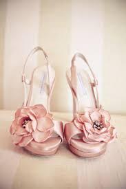 blush wedding shoes blush wedding pretty pink wedding shoes with flowers 2046445