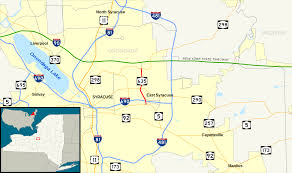 Map Of Syracuse New York by New York State Route 635 Wikipedia
