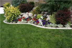 outdoor flower beds in front of house breathtaking colourful