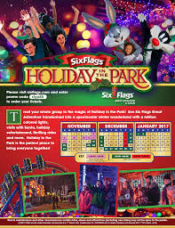 Is Six Flags Open On Christmas Six Flags Holiday In The Park U2013 Iupat Dc 711