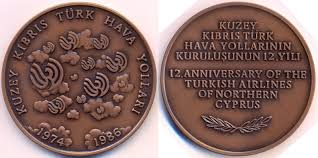 turkish republic of northern cyprus rulers and medallic coinage