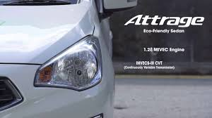 mitsubishi attrage specification mitsubishi attrage fuel efficiency challenge singapore to kuala
