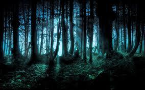 halloween nature background nature landscape forest dark digital art wallpapers hd