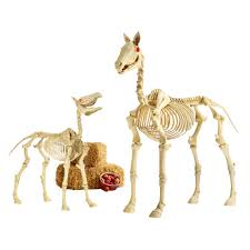 horse skeleton halloween 10 halloween decor trends taking over homes this 2017 the one