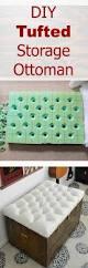 Diy Padded Storage Bench Best 20 Diy Ottoman Ideas On Pinterest Repurposed Furniture