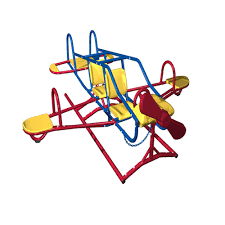 lifetime airplane teeter totter playground equipment yard toy set
