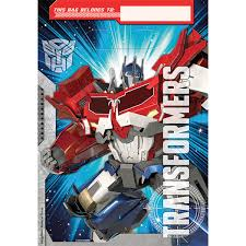transformer party favors transformers party favor bags transformers party supplies this