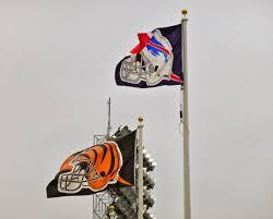 Condor Flags Charlotte Nc Sports Road Trips Cincinnati Bengals 27 At Buffalo Bills 24 Ot