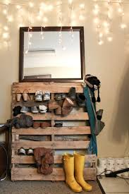 shoe storage ideas that look nothing like a pile at the bottom of