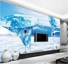 3d Wallpaper Home Decor Custom Wallpaper Home Decor Room 3d Photo Mural Ocean Tornado