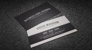 business card template black free classic black white vintage