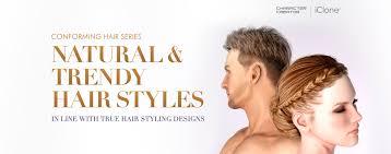 true hair character creator conforming hair