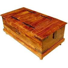 Coffee Tables Chest Storage Trunk Coffee Table Ebay