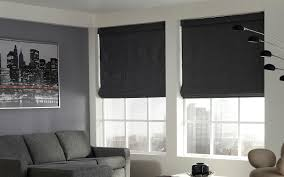 roman style home decor lovely custom roller blinds grey color bamboo construction roman