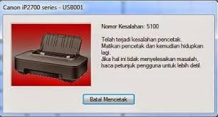 reset canon ip2770 blinking error 5100 pada printer canon ip2770 printer heroes