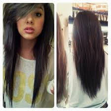 mid length hair cuts longer in front i got my hair did just like this i got it layered in the front