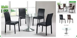 Modern Dining Room Table Sets Coaster Modern Dining Contemporary Dining Room Set With Glass
